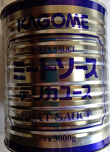 カゴメ ミートソース 1号缶×6本 本3000g 業務用 常温
