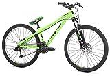 Mongoose Mountain Bike Fireball 8 Speed 26' Wheel, Green, One Size