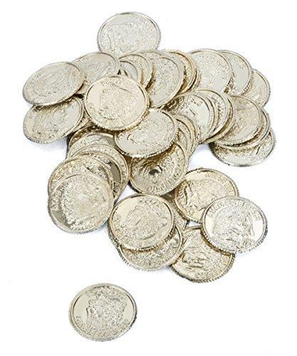 Generique - 50 Pièces de Monnaie Pirate