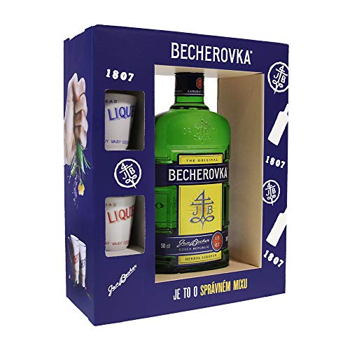 Becherovka Original Porzellantassen Set (1 x 0,5Liter)