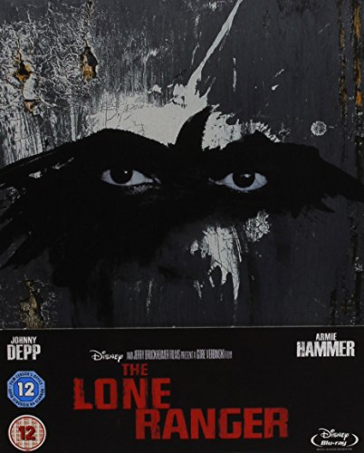 The Lone Ranger (2013) - limited exclusive STEELBOOK Edtion! Limitiert auf 4000 Exemplare! (Johnny Depp / Disney) [Blu-ray]