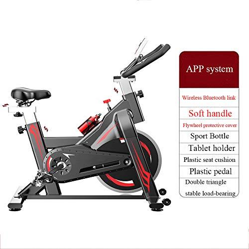 LKH Upgraded Exercise Bike, Excersize Bikes for Home, Sunny Health & Fitness Bike, Bike Exercise Machine, Aerobic Exercise