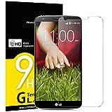 NEW'C Lot de 3, Verre Trempé pour LG G2, Film Protection écran - Anti Rayures - sans Bulles d'air...