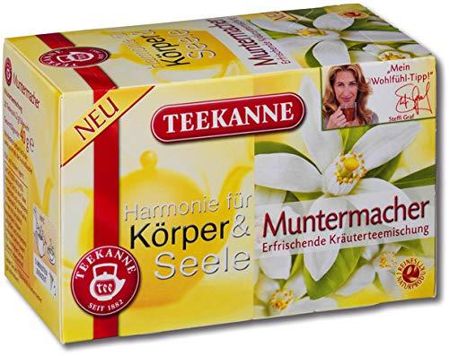 TEEKANNE kruidenthee Muntermacher, zakje aromaverzegeld, 20 x 2 g (20 stuks), je ontvangt 1 verpakking à 20 stuks