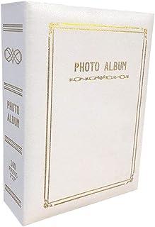 LIOOBO Album de Fotos álbum de Familia Portada de Cuero fotolibro