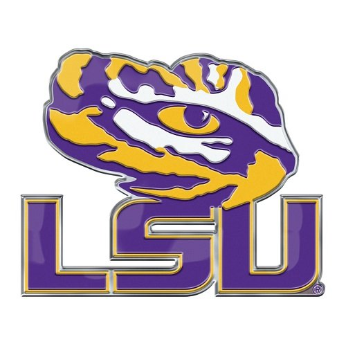 LSU vinyl sticker for skateboard luggage laptop tumblers car b