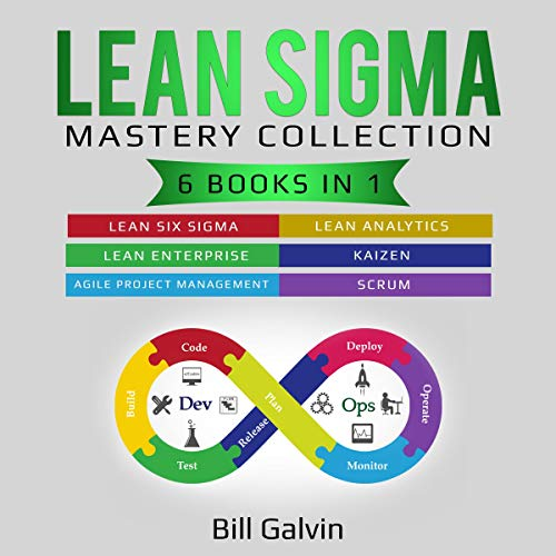 『Lean Sigma Mastery Collection』のカバーアート