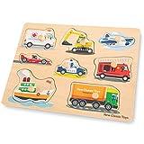 New Classic Toys - Peg Puzzle - Transport
