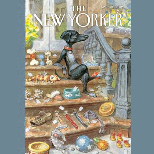 The New Yorker, April 30th 2012 (Dana Goodyear, Ken Auletta, Philip Gourevitch) cover art