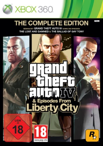 Grand Theft Auto IV & Episodes from Liberty City - The Complete Edition - [Xbox 360]