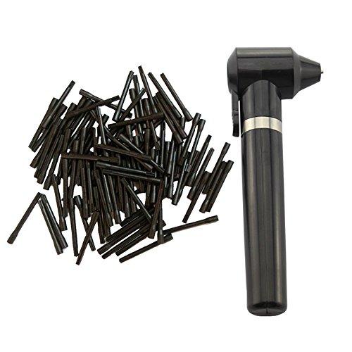 Tattoo Pigment Makeup Electric Ink Mixer Eyebrow Color Supply Tool Agitator Machine 100 Mixing Sticks Set