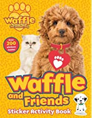 Waffle and Friends! Sticker Activity Book