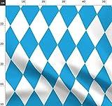 Bayrisch, Oktoberfest, Deutsch, Diamant Stoffe -