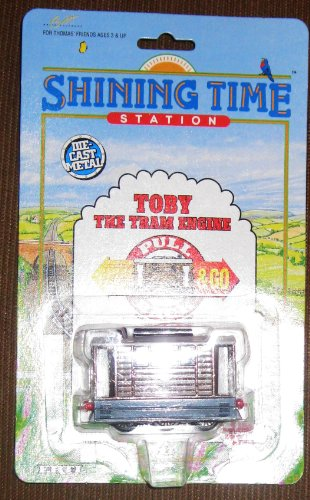 Toby The Tram Engine From Thomas The Tank Engine Pull Back & Go Die-Cast Metal
