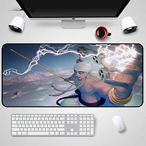 Twhoixi One Piece Mouse Pad Notebook Straw Hoed Piraten Computer PC Laptop Muis Mat Game Tafelmatten, Eén maat, seiu153752 speelgoedfiguur kinderen