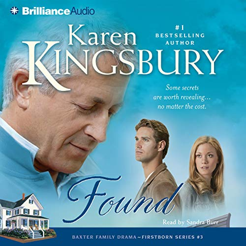 Found     Firstborn Series #3              By:                                                                                                                                 Karen Kingsbury                               Narrated by:                                                                                                                                 Sandra Burr                      Length: 4 hrs and 39 mins     206 ratings     Overall 4.8