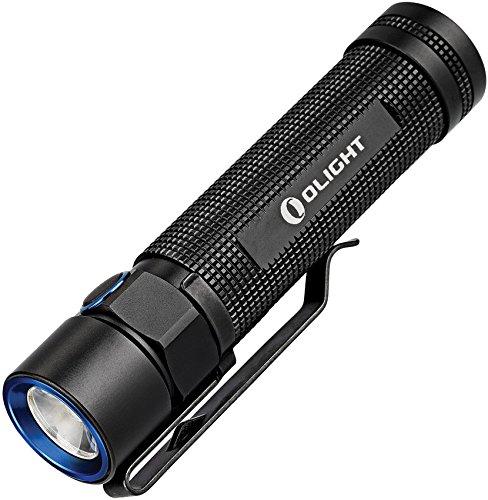 Olight Erwachsene S2 Taschenlampe, Schwarz