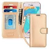 FYY Coque iPhone 6S, Coque iPhone 6, [Or Luxueux] Étui en Cuir de première qualité...