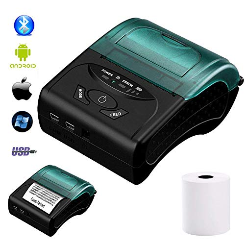 Find Bargain Carrefy Thermal Receipt Printer, Wireless Bluetooth/USB Direct Printing, for Taxi Bill/...