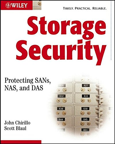 Storage Security SANs NAS DAS w/WS: Protecting, SANs, NAS and DAS