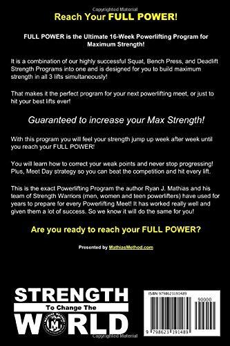 FULL POWER Powerlifting Program
