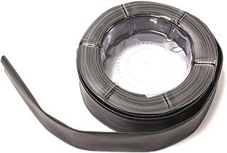 BeMatik Tubo termoretr/áctil Negro de 1,0 mm en Bobina de 20 m