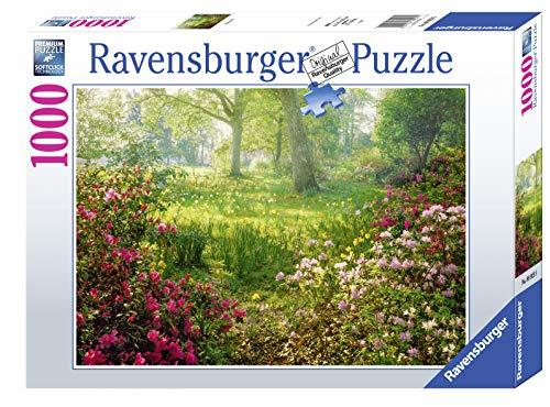 Ravensburger, Puzzle 1000 Pezzi, Prato fiorito in Primavera, Puzzle per Adulti, Linea Foto & Paesaggi, Relax, Stampa di Alta Qualità, Dimensioni 70x50 cm
