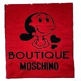 Moschino Bufanda Boutique Olivia Rojo Negro