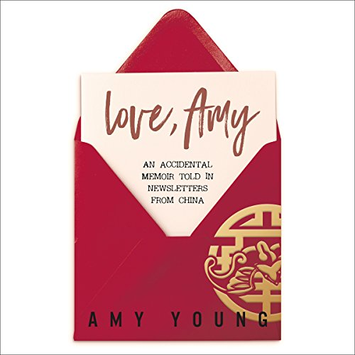 Love, Amy audiobook cover art
