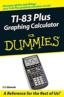TI-83 Plus Graphing Calculator For Dummies (0764549707) | Amazon price tracker / tracking, Amazon price history charts, Amazon price watches, Amazon price drop alerts