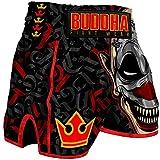 Buddha Fight Wear. Short Retro Crew Especialmente diseñado para el Kick Boxing, Muay Thai, K1 o Cualquier modalidad de Deportes de Contacto. Talla XXL (80-95 Kg)