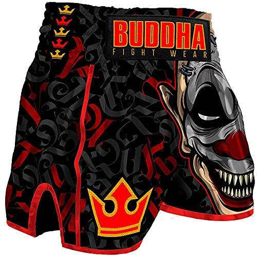 Buddha Fight Wear. Retro-Crew-Shorts,...
