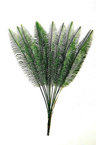 12 st.Palmwedel künstliche Blätter Deko künstliche Kunstpalmen Floristik CB.404