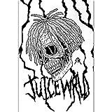 NOVELOVE Juice Wrld Hip Hop Rapper Musik Cover Poster HD-Druck Leinwand Malerei Bilder Wandkunst Dekoratives Geschenk Wohnkultur (42 * 60cm) Ohne Rahmen