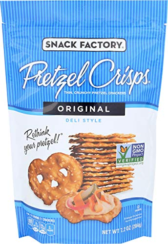 Snack Factory, Pretzel Crisps Original, 7.2 Ounce