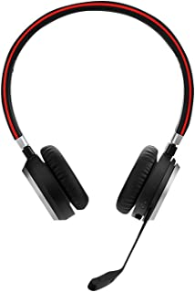 Jabra 6599-823-399 Evolve 65 MS Stereo Wireless Headset with Charging Stand,Black