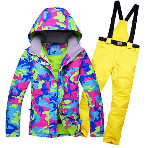 JXS-Outdoor Vrouwen Ski Jas Broek Sneeuwpak Winddicht - Winter Thermische Kleding - Mountainbiken Skiën