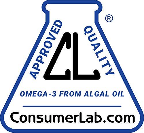 DEVA Vegan Vitamins Vegan DHA (Algae) 200mg Vegan Softgels, 90-Count Bottle