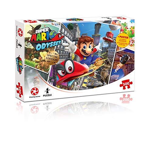 Puzzle Mario World Traveler
