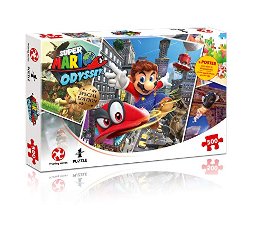 Puzzle Super Mario Odyssey World Traveler, 500 pc