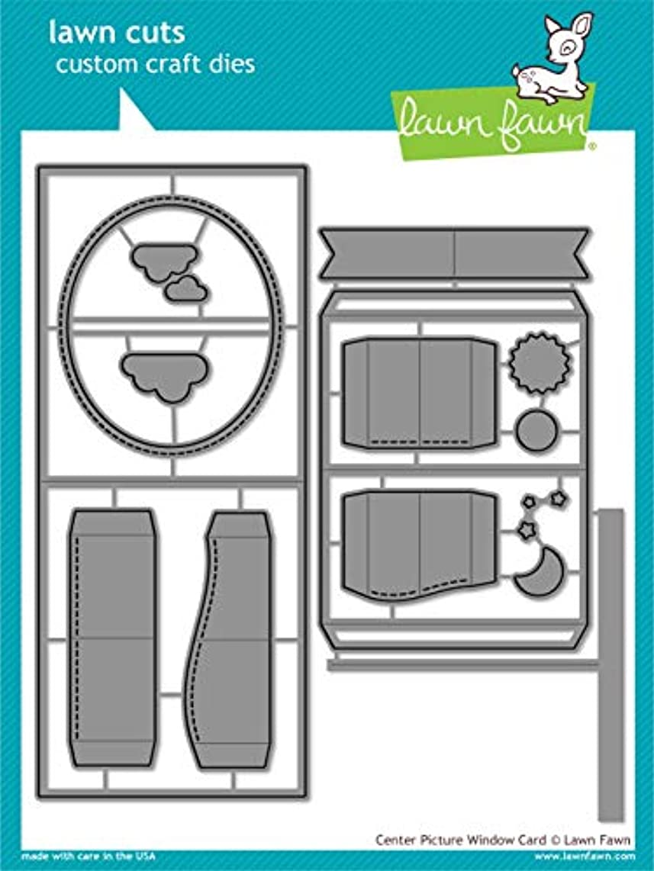 Lawn Cuts Custom Craft Die-center Picture Window Card