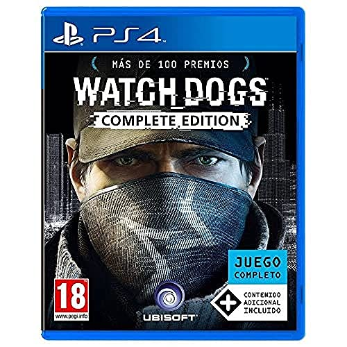 Ubisoft Watch Dogs - Complete Edition, PS4 Base+DLC, Versione spagnola giocabile in italiano