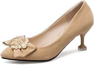 BalaMasa Womens APL11984 Pu Stiletto Heels