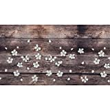 WohnDirect Tapis d'intérieur Fonctionnel jusqu'à 10 m de Long – Tapis de Cuisine résistant, antidérapant et Facile à Nettoyer – Tapis de Bain – Tapis de Passage – Spring — 50x120cm