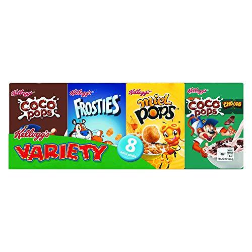 Kellogg's Assortiments de 8 Minis Paquets de Céréales Variété Le Pack 215 g