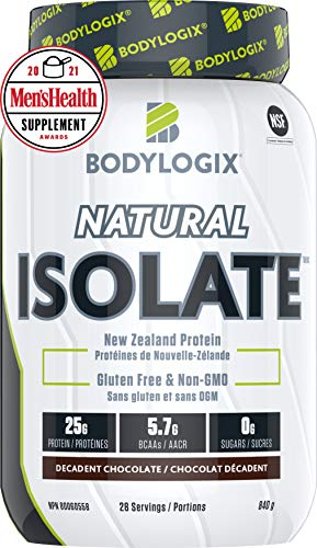 Bodylogix Natural Isolate, Decadent Chocolate, 2.3 kg