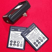 2X 3600mAh Battery for Samsung Galaxy Admire 4G SCH-R820 (MetroPCS) + Travel Charger