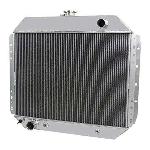 CoolingCare 52MM 3 Row Aluminum Radiator for Ford F150 F250 F350 Trucks 1966-79 /Bronco 78-79