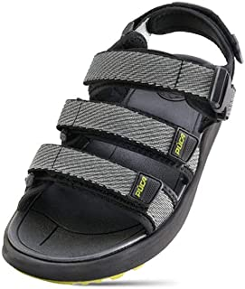 PUCA Sandals for Men | Stylish Casual Design | Light Weight with Velcro Straps | Series - Flamingo