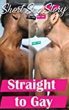 Straight to Gay: 48 Hottest and dirtiest EXPLICIT GAY MM Erotic Taboo Sex Short Stories for Adults (Roommate sex, Stranger sex, Relationship sex,Threesome,MMM)